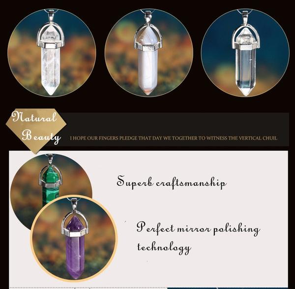 crystal pendant, quartz, Jewelry, Cap
