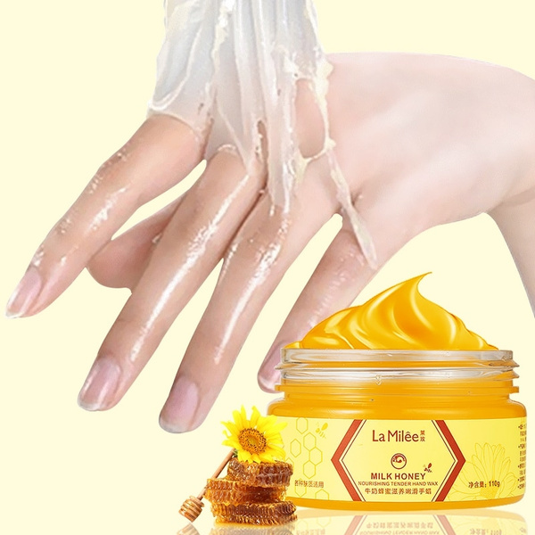milkhoney, handwax, exfoliating, Wax