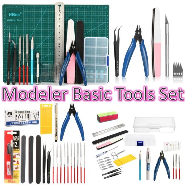 DIY Gundam Modeler Basic Tools Craft Hobby Car Building Model Kit Grinding