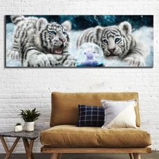 walldecorpainting, cutetiger, Wall Art, canvaspainting