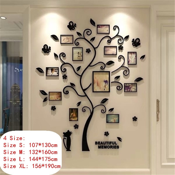 decoration, phototree, 3dwallsticker, Home & Living