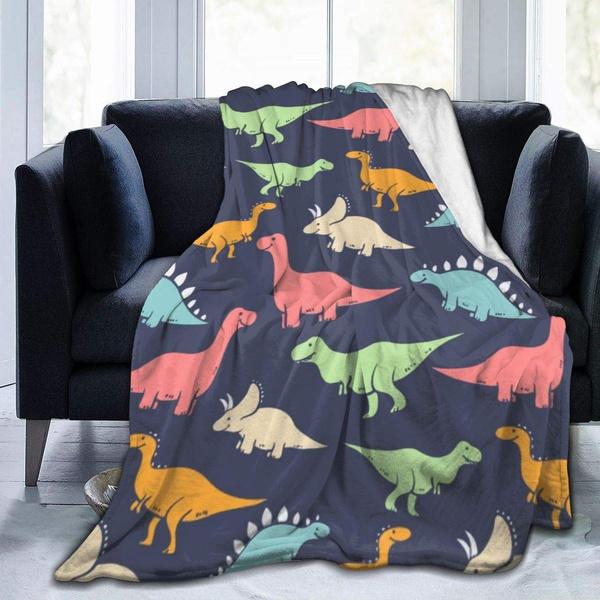 blanketstapestry, softmicrofleececomfythrowblanket, bedroomaccessorie, Dinosaur