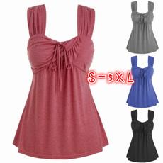 Women, Collar, Plus Size, wideshoulderstrap