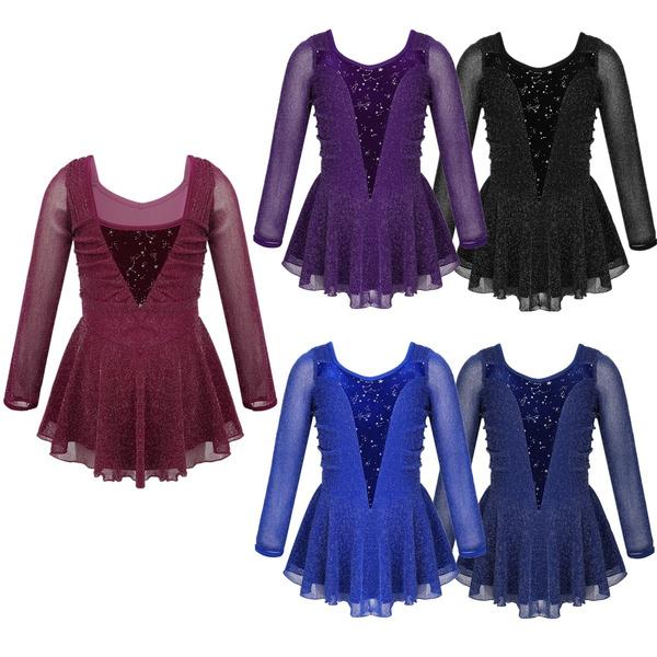 figureiceskating, danceleotarddres, Ballet, Sleeve