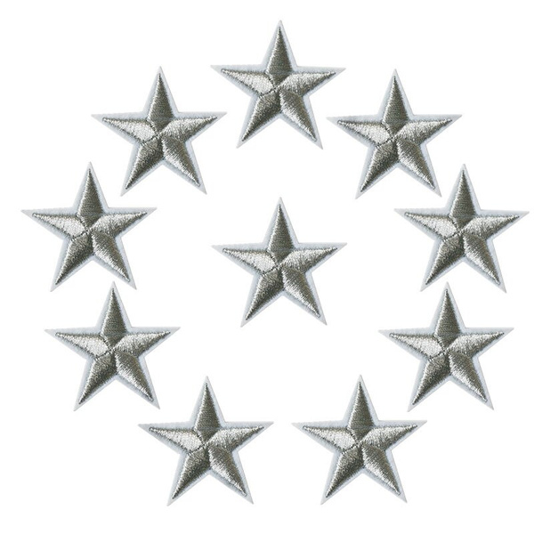 starpatch, Star, Embroidery, badgesamppatche