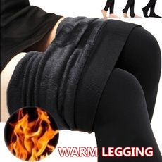 Leggings, Moda, high waist, Elastic