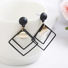 Jewelry, Stud Earring, Simple, longsectionearring