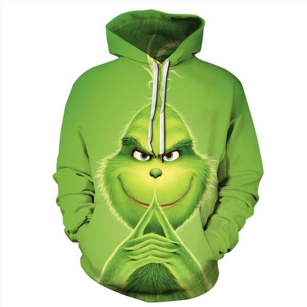 3D hoodies, Fashion, Christmas, Funny