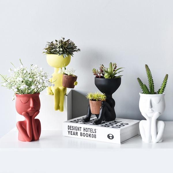 Plants, Hangers, Container, Garden