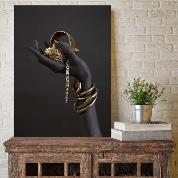 golden, Decor, Wall Art, Jewelry