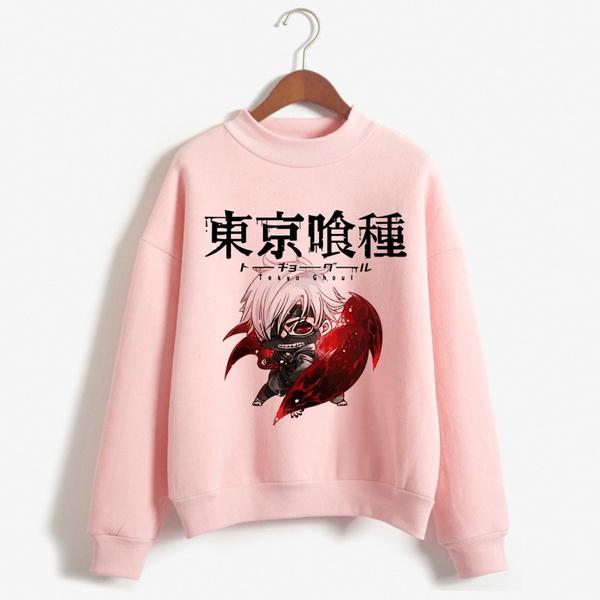 Fashion, tokyoghoulsweatshirt, Sweatshirts, Long Sleeve