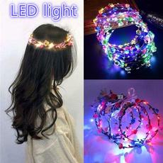 wreathdecoration, led, Christmas, headwear