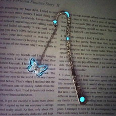 butterfly, dragon fly, Bookmarks, Luminous