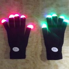 light up, finger, led, lights
