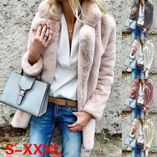 casual coat, Jacket, Fleece, Fashion