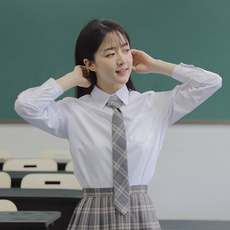 blouse, School, women white blouse, Shirt