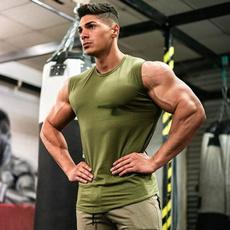 Summer, Vest, Muscle, Tank