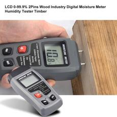 moisturehygrometer, tester, humidity, lcd
