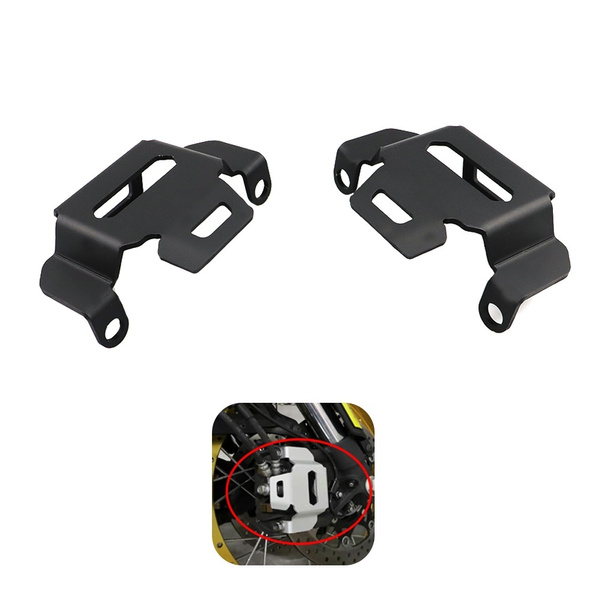 frontleftrightbrakecalipercoverguard, Motorcycle part, dl1000claipercover, motorcyclepartsandaccessorie