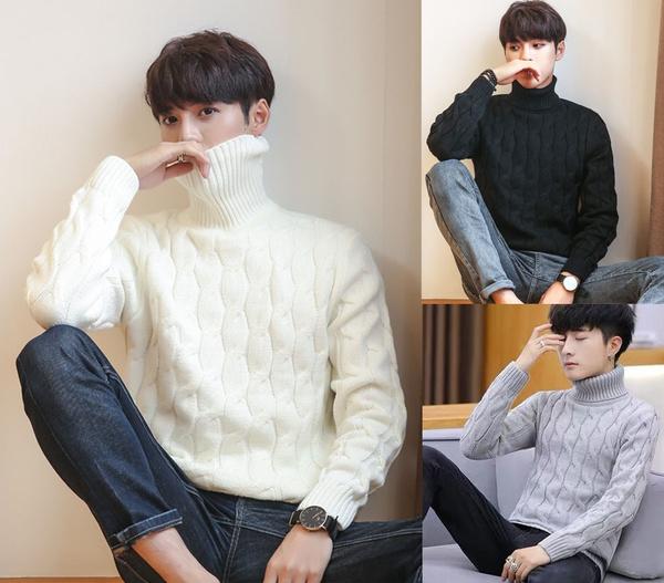 casualslim, Men, Winter, Sweaters