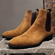 winterbootsformen, ankle boots, Plus Size, workboot