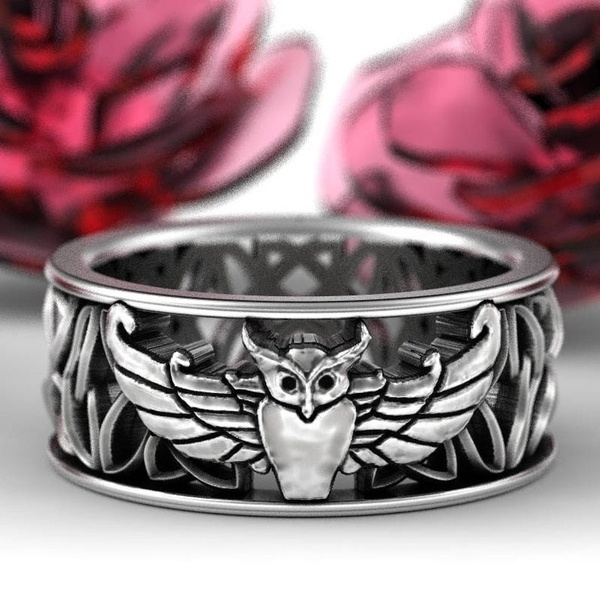 Sterling, Owl, Fashion, Jewelry