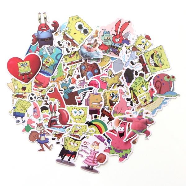 Car Sticker, suitcasesticker, Computers, Sponge Bob