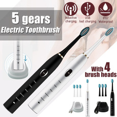 sonic, Head, teethwhitening, Waterproof