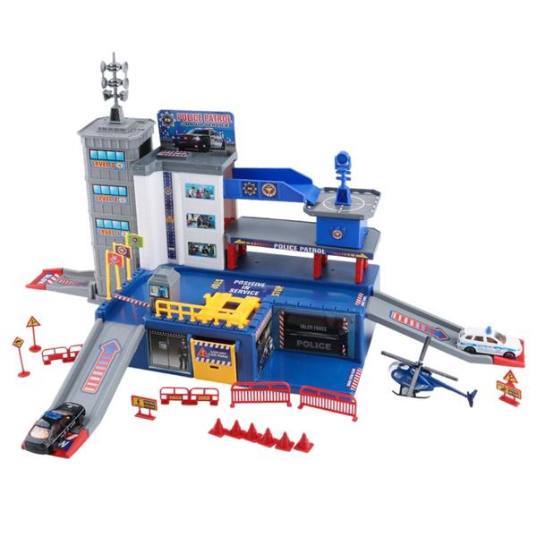 largeparkinglotplayset, Toy, multilayerparkinggaragetoy