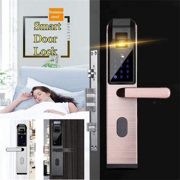 Touch Screen, smartlock, Door, doorlock