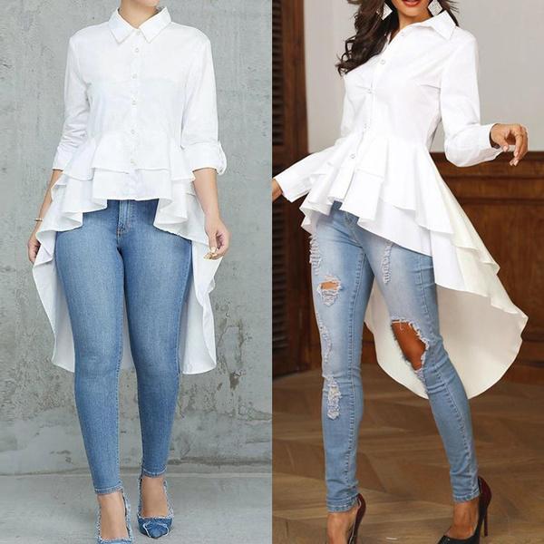 blouse, highlowshirt, Fashion, tunic