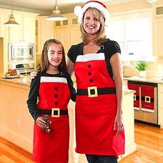 apron, santaclausapron, cookingapron, Christmas