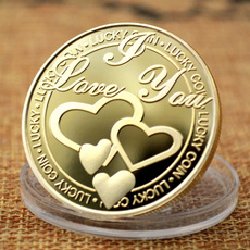 luckcoin, medallioncoin, Love, lover gifts