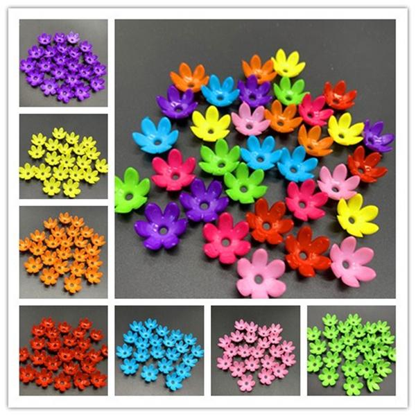 acrylichollow, Flowers, Jewelry, Cap