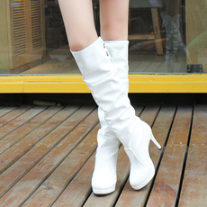 tallboot, High Heel Shoe, leather shoes, long boots