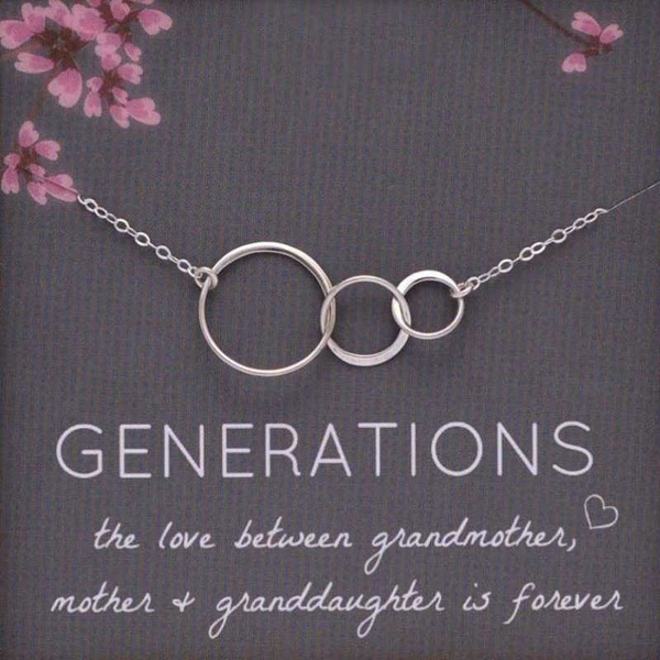 Jewelry, Gifts, women necklace, generationsnecklace