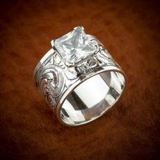 Beautiful, DIAMOND, carvingring, Engagement Ring