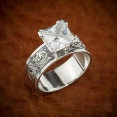 Sterling, Fashion, wedding ring, Engagement Ring