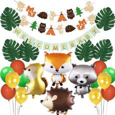 woodlandbabyshowerdecoration, Garland, Balloon, woodland