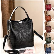 Shoulder Bags, Capacity, vintage bag, Waterproof