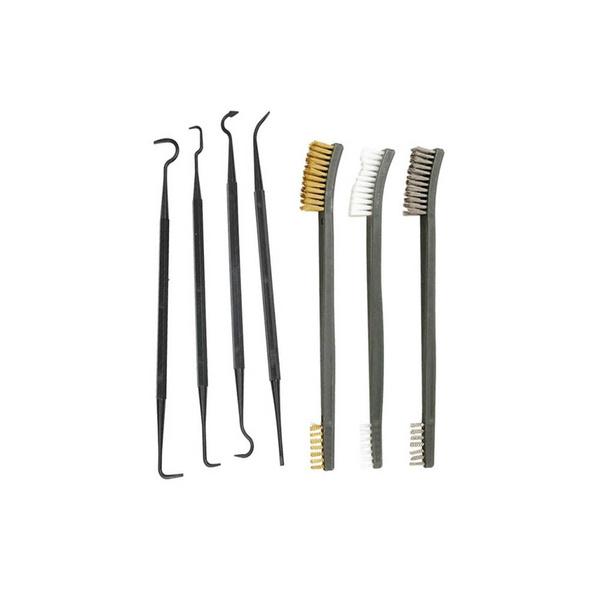 Steel, Cleaner, nylonbrush, Hooks