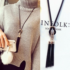 Chain Necklace, Moda masculina, Joyería de pavo reales, Chain