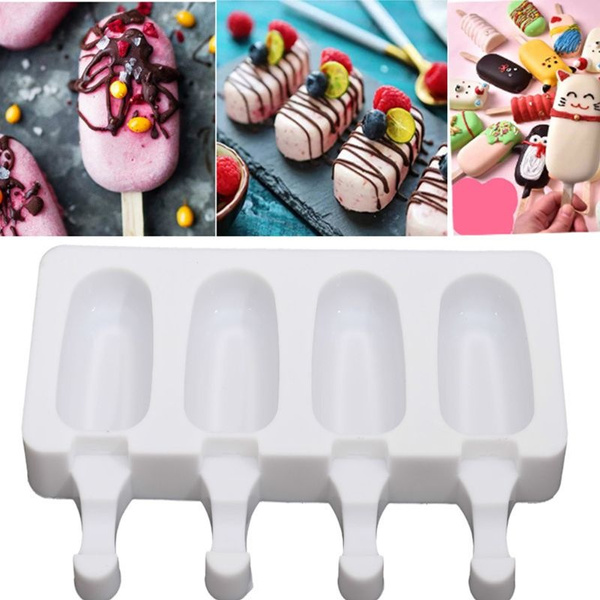 mould, 4cell, Silicone, icelolly