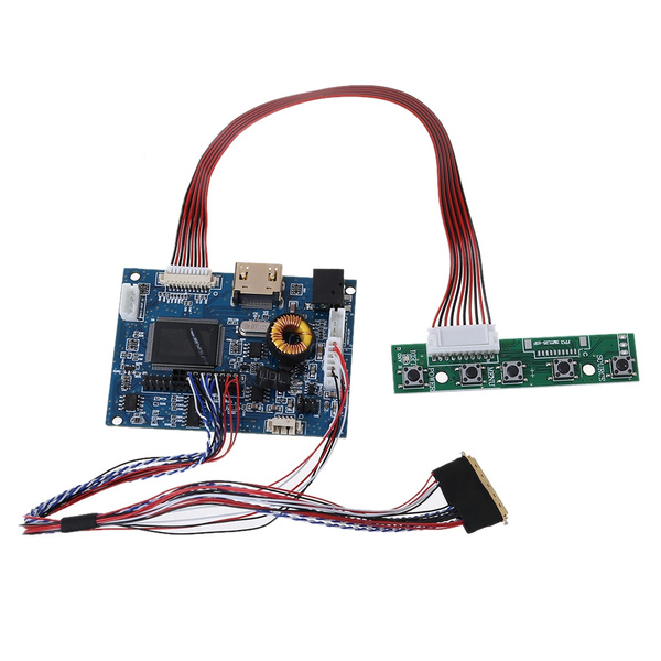 7 inch 10.1 inch 50PIN LCD 40PIN LCD 50PIN LCD 50Pin to 40Pin Adapter Board Bewinner RGB LCD Driver Board Kit for Raspberry Pi Support 5 inch