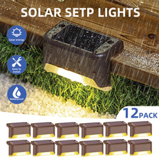 solarsteplight, Outdoor, led, Waterproof