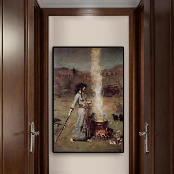 Magic, Decor, Woman, living room