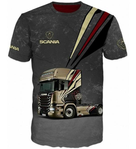 Shirt, scania, Driver, Backs