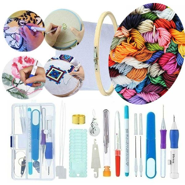 crossstitch, embroiderycrossstitch, embroideryhoop, knittingneedle