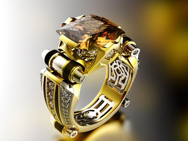Sterling, wedding ring, 925 silver rings, 18k gold ring