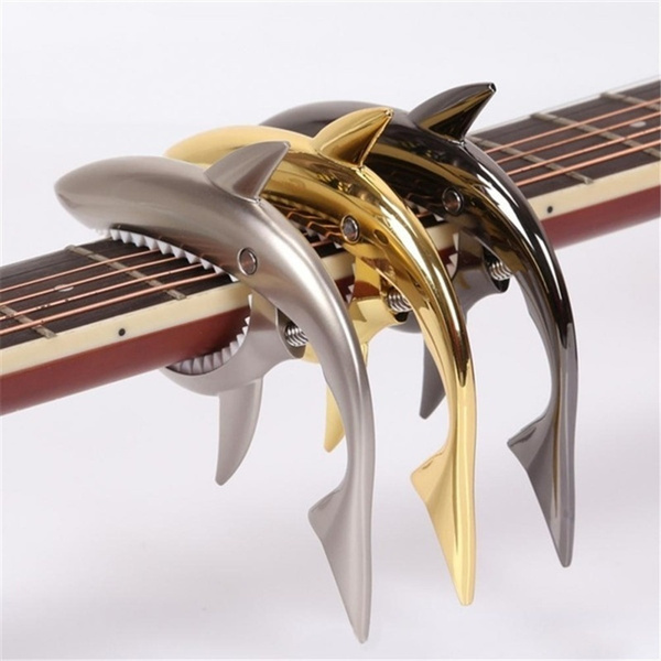 Shark, Musical Instruments, Electric, guitarcapo